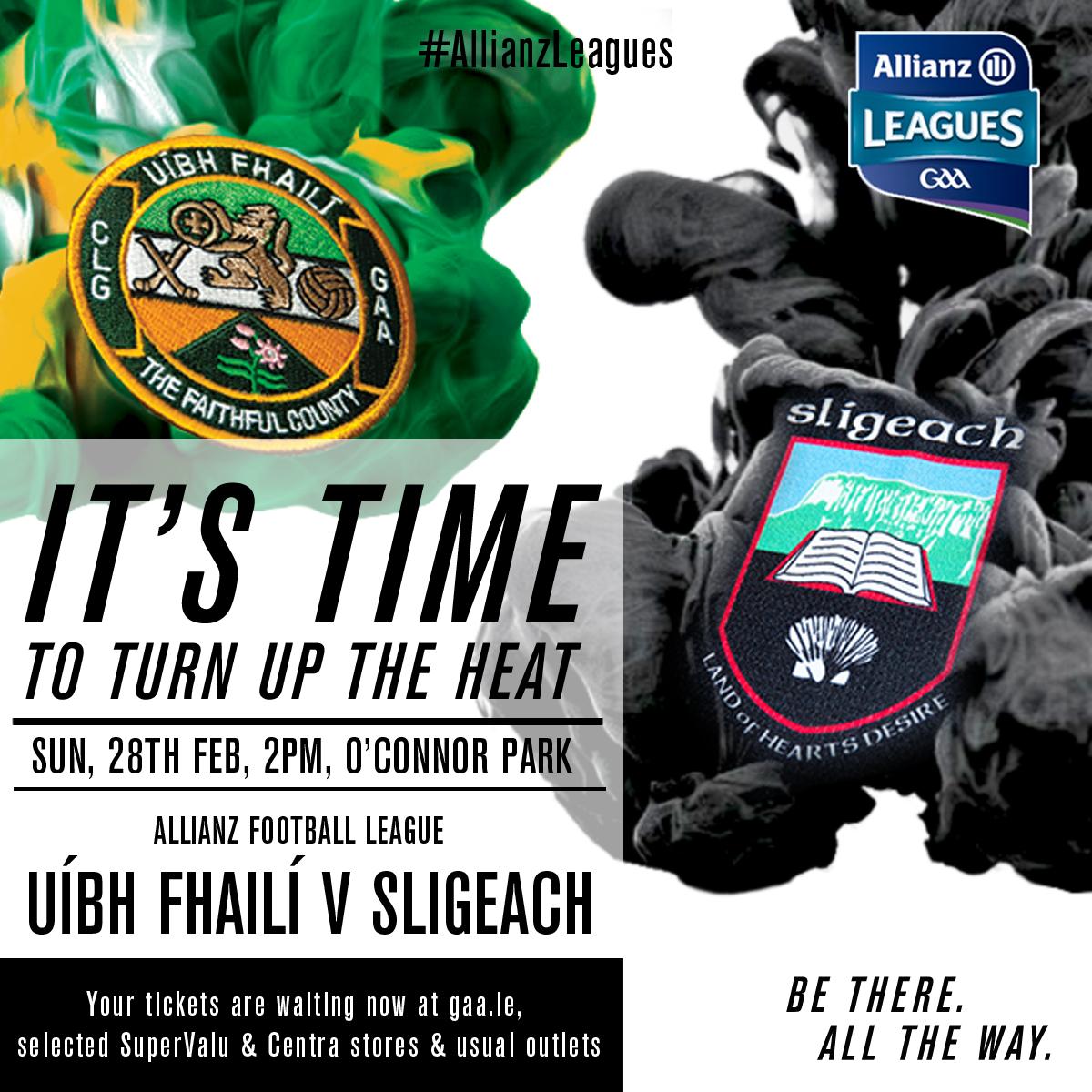 Offaly v Sligo NFL Rd 3 – 28/02/2016