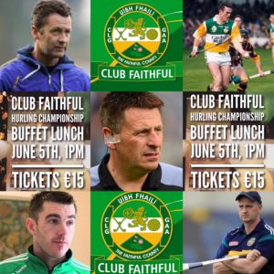 Club Faithful – Pre Event
