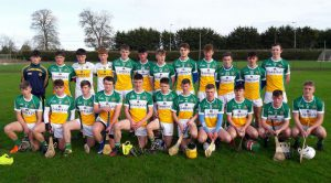 Winning Start for Combined Offaly Schools