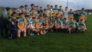U20 Footballers Win O'Connor Cup But Seniors Lose To Cork
