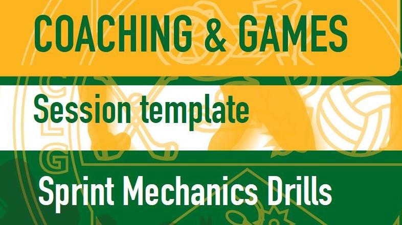 GAA Sprint Mechanics Drills