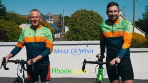 Well-Known Rhode GAA Duo Take On Mammoth Cycle Challenge