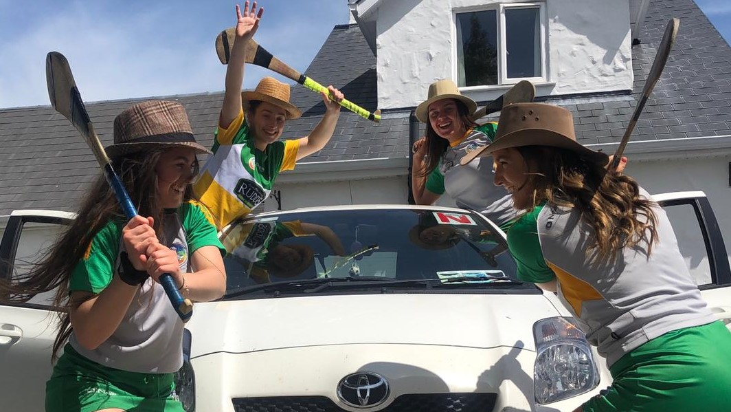 Offaly Hurlers' Fund-Raising For Charity A Huge Success