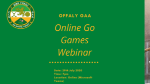Online Go Games Webinar On 29th July
