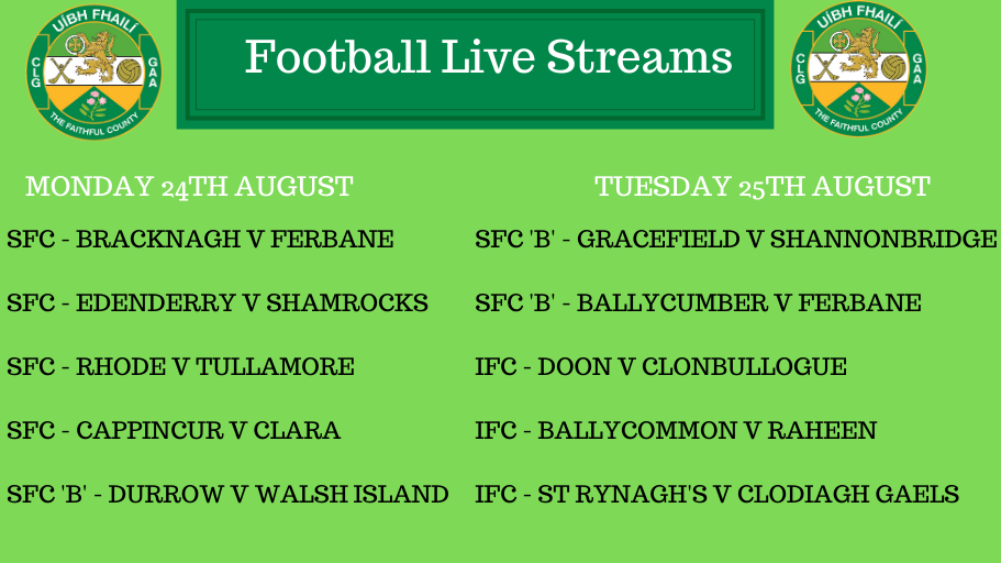 Action Returns – 10 Games 'Live' On Mon & Tues Evening