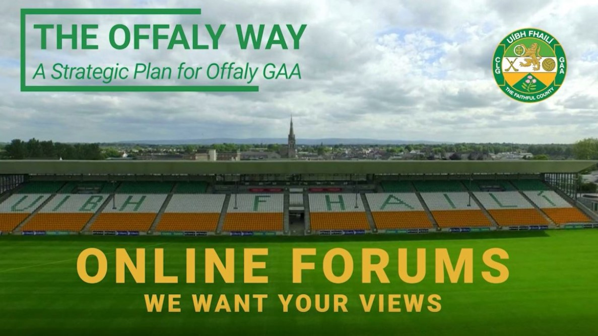 Have Your Say – Online Workshops For Offaly's Strategic Plan