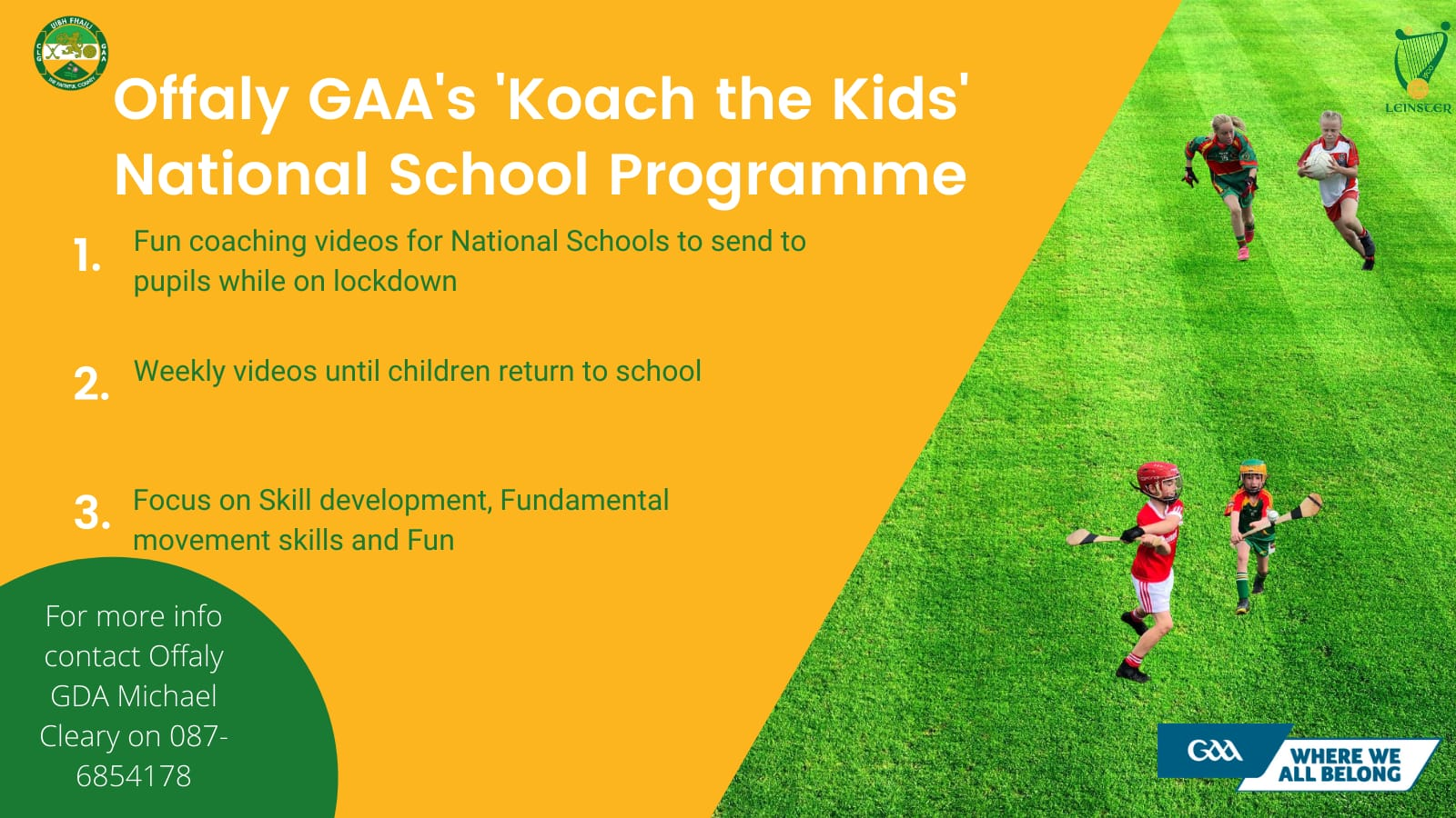'Koach The Kids' Videos For National Schools