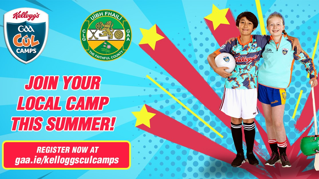 Bookings Open For Kellogg's Cúl Camps In Offaly